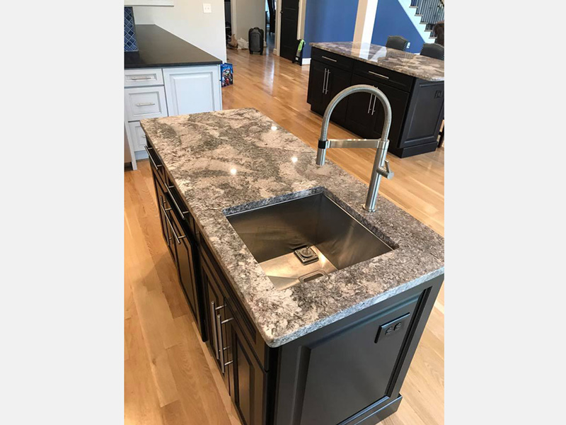 And Since Granite Countertops Are Composed Of Many Different Minerals, Such  As Quartz, Mica, Feldspar, Hornblende, And Biotite, Many Different Designs  And ...